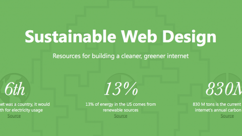 Mighty Bytes and Sustainable Web Design