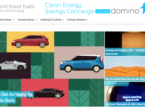 Domino, The Energy Concierge Company that gets you there